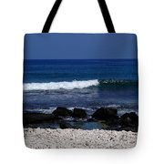 Waves In Paradise Tote Bag