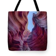 Waves Of Color Tote Bag by T A Davies