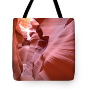 Waves Of Colorful Sandstone Tote Bag