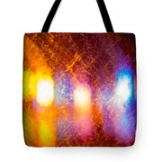 Waves Of Colour Tote Bag