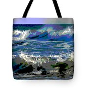 Waves Of Delight Tote Bag