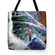 Waves Of Freedom Tote Bag