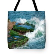 Waves Of La Jolla Tote Bag