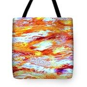 Waves Of Light Tote Bag