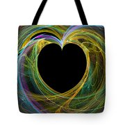 Waves Of Love - Romance Tote Bag