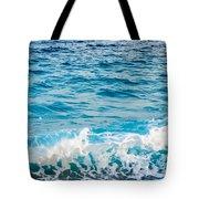 Waves Of Nice France Tote Bag