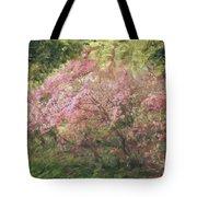 Waves Of Spring Tote Bag