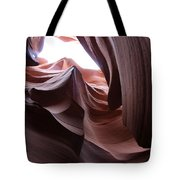 Waves Of Stone Tote Bag