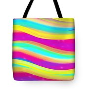Waves Of Wishes Tote Bag
