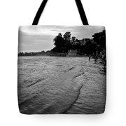 Waves On The Ganges Tote Bag