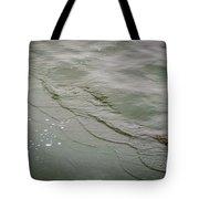 Waves On The Ice Tote Bag