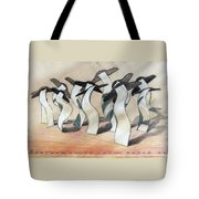 Wavey Square Orchard Tote Bag