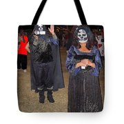 Waving Ghoul Cinematographer Halloween Casa Grande Arizona 2004 Tote Bag
