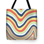 Waving Tote Bag