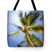 Waving Palm Tote Bag