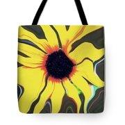Waving Sunflower Tote Bag