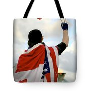 Waving The Flag Tote Bag