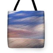 Wavy Hills Abstract. Moravian Tuscany Tote Bag
