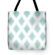 Wavy Light Teal Braids Tote Bag