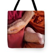 Wax Monk Tote Bag