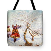 Way From The Church, Jozef Theodor Mousson, 1931 Tote Bag
