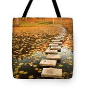 Way In The Lake Tote Bag