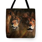 Way Of The Lion Tote Bag