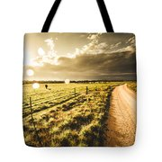 Way To Policemans Point Tasmania Tote Bag
