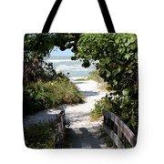Way To The Beach Tote Bag