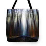 Way To The Blue... Tote Bag