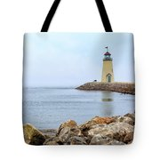 Way To The Lighthouse Tote Bag