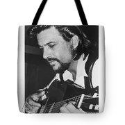 Waylon Jennings 1971 Signed Tote Bag