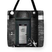 Wayne's Harley Tote Bag by Jeff Swanson
