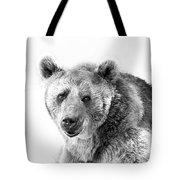 Wb Portrait Of A Bear Tote Bag