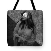 We Are All Made Of Light And Shadows Tote Bag