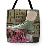 We Are The Gum We Step Tote Bag