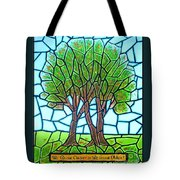 We Grow Closer As We Grow Older Tote Bag