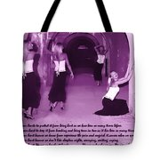 We Guard Our Heart Tote Bag
