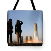 We Have Lift-off Tote Bag