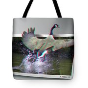 We Have Liftoff - Use Red-cyan 3d Glasses Tote Bag