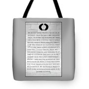 We Hold These Truths.... Tote Bag