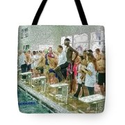 We Swim Tote Bag