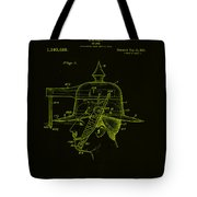 Weapon Patent Drawing 2h Tote Bag