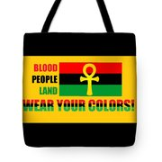Wear Red Black And Green Tote Bag