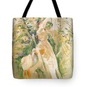 Wearing A Hat Tote Bag