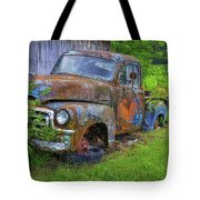 Wears Valley 1954 Gmc Wears Valley Tennessee Art Tote Bag