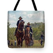 Weary Union Soldiers Tote Bag