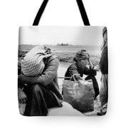Weary Vietnamese Refugees Tote Bag