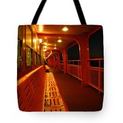 Weather Deck Starboard Side Night Tote Bag