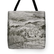 Weather Over Agua Caliente Tote Bag